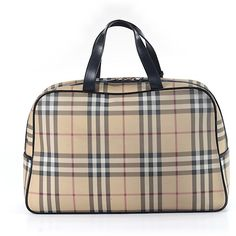 Pre-owned Burberry Satchel: Beige Women's Bags ($393) ❤ liked on Polyvore featuring bags, handbags, beige, brown satchel purse, man bag, pre owned handbags, preowned handbags and burberry