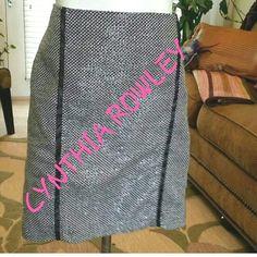 "Selling this ""CYNTHIA ROWLEY BLACK AND WHITE SKIRT"" in my Poshmark closet! My username is: cb119600. #shopmycloset #poshmark #fashion #shopping #style #forsale #Cynthia Rowley #Dresses & Skirts"