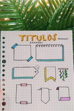 titulos para regreso a clase Bullet Journal Paper, Bullet Journal Lettering Ideas, Bullet Journal Notebook, Bullet Journal School, Bullet Journal Ideas Pages, Bullet Journal Inspiration, Sketch Note, Bullet Journal Aesthetic, Celtic Dragon