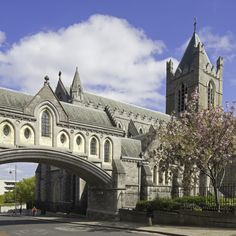 The oldest surviving building in #Dublin - Christ Church Cathedral   #travel