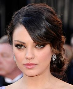 Mila Kunis, the Fashion Hair Style Queen