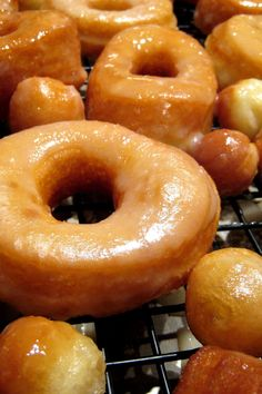 Homemade Crispy and Creamy Doughnuts Recipe