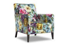 Cooper Chair by Arthur G | Australian Made | Australian Designed | Floral Upholstery | Melbourne | Sydney | Perth | www.arthurg.com.au/range