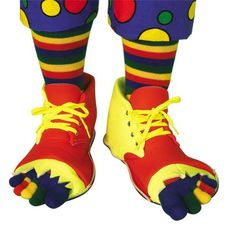 Adult Clown Shoes -amp Toe Socks. From #Forum. Price: $21.45