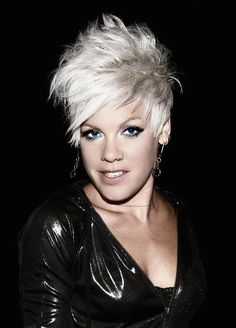P!nk.... Awesome hair always!! I wish I could have my hair like that