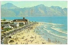 The Somerset Strand 1969 Best Family Beaches, Somerset West, Cape Town South Africa, African History, Holiday Destinations, Old Photos, Live, Beautiful Places, National Parks