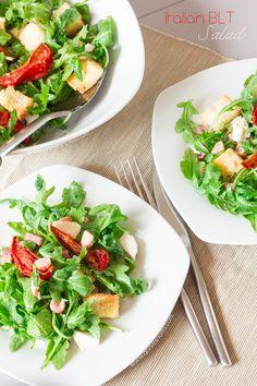 Italian BLT Salad   Annie's Noms