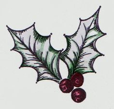 holly leaves tattoos - Google Search