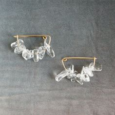 イヤークリップ / イヤリング「Crystal ear clip」(クリスタル) - CINRA.STORE - iPhoneケース,雑貨,ファッション,文房具,プレゼントのショッピングサイト