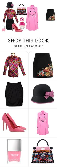 """""""Down with love"""" by syora on Polyvore featuring Yves Saint Laurent, River Island, MANGO, Tarnish, Dee Keller, WithChic, Fendi and Marc Jacobs"""