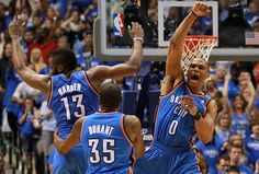 There never was a young big three, who did it all so easily. We knew they'd form a dynasty, but now they're playing separately. Which one will win the MVP, while all are chasing history? One big mistake did change the league, thanks for nothing Sam Presti. ~SEJOLE~ NBA Golden State Warriors Oklahoma City Thunder Kevin Durant Russell Westbrook James Harden Houston Rockets LeBron James Stephen Curry