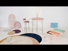 Olivia Lee designs furniture to help solve technology-related daily dilemmas - YouTube