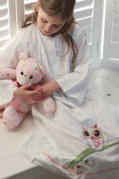 Girls owl nightdress #owl #nightdress