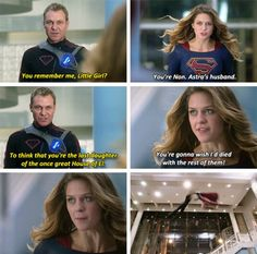 """""""You're gonna wish I'd died with the rest of them! Supergirl Season, Supergirl Superman, Supergirl 2015, Supergirl And Flash, The Cw Shows, Dc Tv Shows, Superhero Shows, Cw Dc, Lena Luthor"""