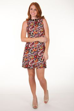 Kate Reversible (front to back) Dress  Print: Geo  www.tracynegoshian.com
