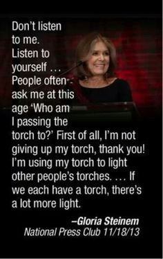 More torches, more light. I will share my light and help you carry your torch during our time together.