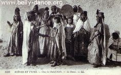 The first and biggest Bellydance museum online! Algerian tribal dancers