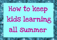 The Educators' Spin On It: Summer Curriculum & Books Reviews
