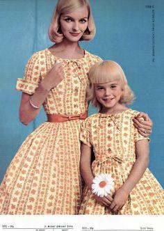Matching vintage fashion