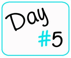 Day 5-Favorite Comfort Foods & Why