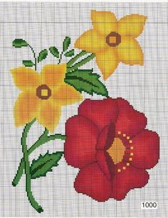 1 million+ Stunning Free Images to Use Anywhere Embroidery Stitches, Embroidery Patterns, Cross Stitch Patterns, Cross Stitch Heart, Cross Stitch Flowers, Beaded Flowers, Crochet Flowers, Crochet Bedspread Pattern, Free To Use Images