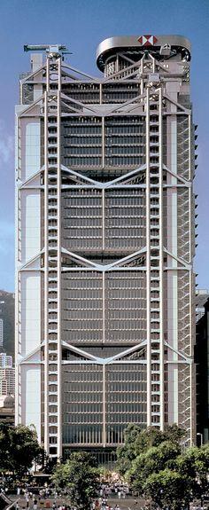 HSBC offices in Hong Kong.