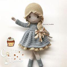 New and friendly Amigurumi Crochet PAttern Design Part 35 ; Crochet Doll Tutorial, Crochet Doll Pattern, Crochet Patterns Amigurumi, Amigurumi Doll, Yarn Dolls, Knitted Dolls, Crochet Dolls, Crochet Animal Patterns, Stuffed Animal Patterns