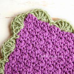 Easy Crochet Baby Blanket Free Pattern, ✭Teresa Restegui http://www.pinterest.com/teretegui/ ✭