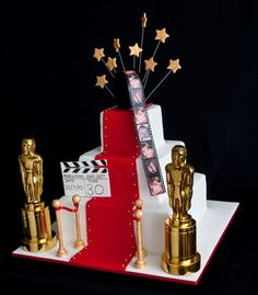 Hollywood Theme Cakes
