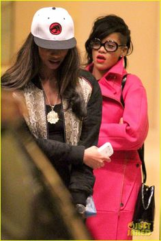 Rihanna street style x Hood By Air