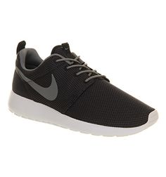 Nike Roshe Run Black Cool Grey White - Unisex Sports