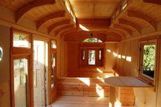 interior photos of greg ryan 39 s gypsy wagon tiny houses pinterest gypsy wagon interior. Black Bedroom Furniture Sets. Home Design Ideas