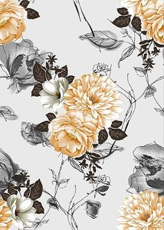 Flowers pattern wallpaper grey ideas for 2019 Flower Backgrounds, Flower Wallpaper, Pattern Wallpaper, Wallpaper Backgrounds, Grey Wallpaper Iphone, Floral Wallpapers, Flower Pattern Design, Flower Patterns, Textures Patterns