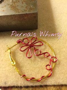 Dragonfly Hoop Earrings - Purna's Whimsy