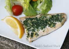 This simple recipe for Baked Garlic Dill Arctic Char is plate-licking good!