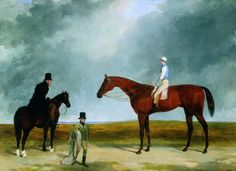 Click for a larger image of '`Bloomsbury`, Winner of the 1839 Derby'