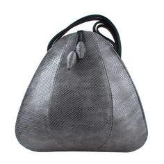 The Petal - wearable work of art. Jane Hopkinson Leather Bags.