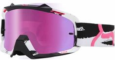Pink motocross goggles from Fox Racing - MX Gear