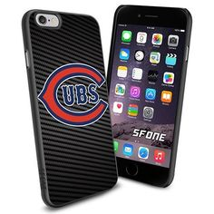 Chicago Cubs MLB Carbon Logo WADE5843 Baseball iPhone 6 4.7 inch Case Protection Black Rubber Cover Protector WADE CASE http://www.amazon.com/dp/B013XH9ELM/ref=cm_sw_r_pi_dp_w7zFwb14Y0CBZ