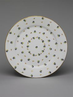 Cake Plate, ca. 1780. French, possibly. The Metropolitan Museum of Art