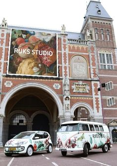 All of the images in the Rijksmuseum collection are high resolution. So the printout of your favorite works will look great, as a poster, for example, or you can even download them and make something yourself! So print a masterpiece on your car! www.rijksmuseum.nl/rijksstudio