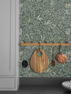 Nocturne by Boråstapeter - Jade Green - Wallpaper : Wallpaper Direct