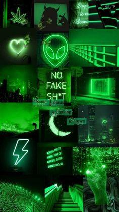 Lockscreen Green | Dark Green Aesthetic, Mint Green