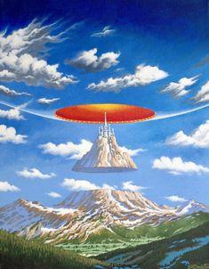 Science Art, Science Fiction, Sci Fi Background, Cool Backgrounds Wallpapers, 70s Sci Fi Art, Sci Fi Books, Fantasy Landscape, Sci Fi Fantasy, Cyberpunk