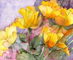 shirley trevena vibrant watercolours - Google Search