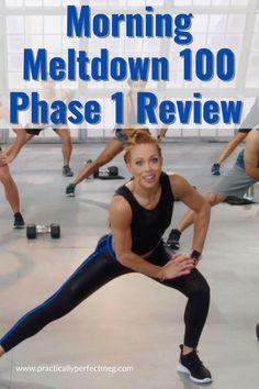 Morning Meltdown 100 by Jericho McMatthews and Beachbody review. #fitness #weightloss #plussize #morningmeltdown100 #fullbodyworkout #athomeworkout #forbeginners #strengthtraining #fatburning #hiit #formen #forwomen