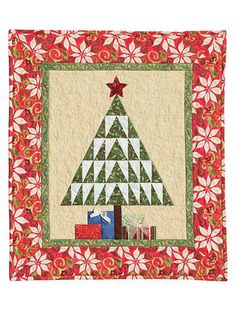 """In The Pines"" quilt pattern, 27 x 32"",  at Annie's Catalog"