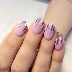 Simple and Easy Ombre Waterfall Nails Ideas Waterfall Nails, Ombre Waterfall Nails Accent,Holographic Waterfall Nail Art, Waterfall Nails Step By Step Tutorial, Ombre Nails Diy Nails, Cute Nails, Pretty Nails, Two Tone Nails, Holographic Nails, Purple Nails, Nagel Gel, Cute Nail Designs, Perfect Nails
