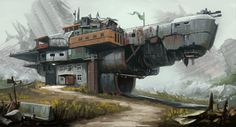 ArtStation - Rebel Outpost, Dave Jones