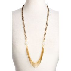 Check out this item at One Kings Lane! Flapper Fringe Necklace